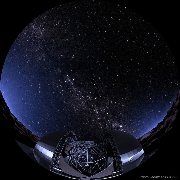 768px-Artist's_impression_of_the_E-ELT_and_the_starry_night_sky