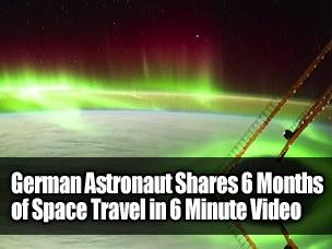 German-Astronaut-Footage
