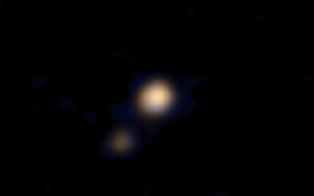 First-Color-Image-Of-Pluto
