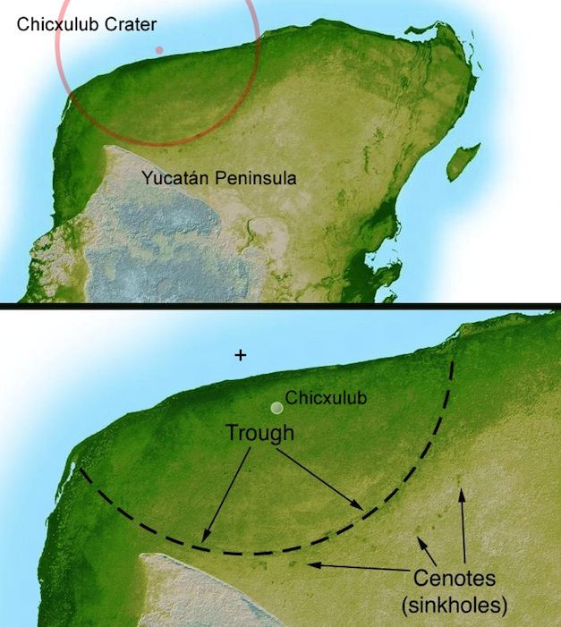 Chicxulub-Crater-Map